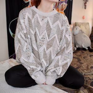Oversized Vintage Sweater